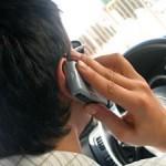 Telefonování v autě